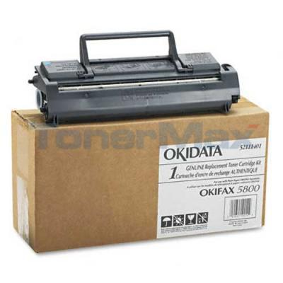 OKIDATA OKIFAX 5800 TONER BLACK